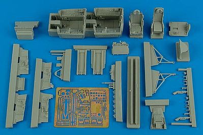 Aires F100F Super Sabre Early Cockpit For Trumpeter Plastic Model Aircraft Accessory 1/48 #4566