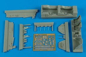 Aires T28 Cockpit Set For a Roden Model Plastic Model Aircraft Accessory 1/48 Scale #4576