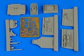 Aires P40M Kitty Hawk Cockpit For a Hobby Boss Model Plastic Model Aircraft Accessory 1/48 #4599