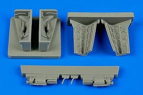 Aires Sepecat Jaguar Gun Bay For a Kitty Hawk Model Plastic Model Aircraft Accessory 1/48 #4605