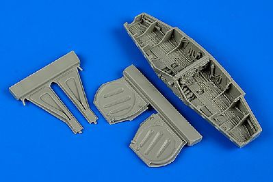 Aires P51D Mustang Wheel Bay For a Tamiya Model Plastic Model Aircraft Accessory 1/48 Scale #4613