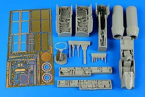 Aires F/A18A Hornet Detail Set For a Hobby Boss Model Plastic Model Aircraft Accessory 1/48 #4620