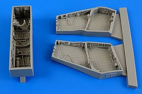 Aires F4C/D Phantom II Wheel Bay For ACY Plastic Model Aircraft Accessory 1/48 Scale #4621
