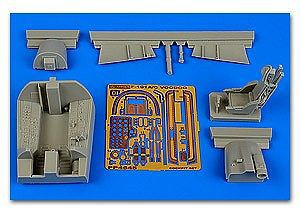 Aires Hobby F101A/C Voodoo Cockpit Set For KTY -- Plastic Model Aircraft Accessory -- 1/48 Scale -- #4645