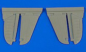 Aires P40M/N Warhawk Control Surfaces for HSG Plastic Model Aircraft Accessory 1/48 Scale #4665