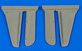Aires F8F Bearcat Control Surfaces for HBO Plastic Model Aircraft Accessory 1/48 Scale #4666
