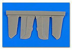 Aires Bf109F Control Surfaces For ZVE (Resin) Plastic Model Aircraft Accessory 1/48 Scale #4679