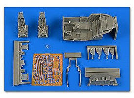 Aires 1/48 A37B Dragonfly Cockpit Set For TSM