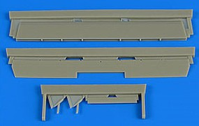 Aires 1/48 P38 Lightning Control Surfaces For ACY & EDU (Resin)