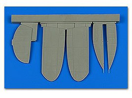 Aires 1/48 A5M2 Claude Control Surfaces For Wingsy (Resin)