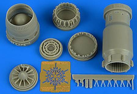 Aires MiG27 Flogger Late Exhaust Nozzle Opened For TSM Model Aircraft Accessory 1/48 #4742