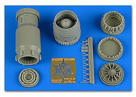 MiG23BN Late Exhaust Nozzle Opened For TSM Plastic Model Aircraft Accessory 1/48 #4748