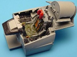Aires F100D Cockpit Set For an Italeri Model Plastic Model Aircraft Accessory 1/72 Scale #7068