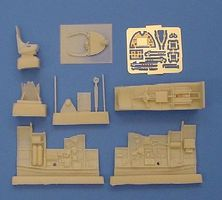 Aires Spitfire Mk I Cockpit Set For a Tamiya Model Plastic Model Aircraft Accessory 1/72 #7078