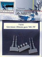 Aires German 20mm MG FF Machine Gun Plastic Model Aircraft Accessory 1/72 Scale #7134