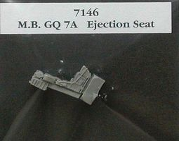 Aires MB GQ7A Seat for F104G Plastic Model Aircraft Accessory 1/72 Scale #7146