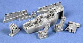 Aires F14A Cockpit Set For a Hasegawa Model Plastic Model Aircraft Accessory 1/72 Scale #7163
