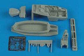Aires F22A Cockpit Set For a Revell Model Plastic Model Aircraft Accessory 1/72 Scale #7263