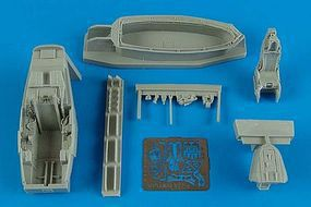 Aires F22A Cockpit Set For an Academy Model Plastic Model Vehicle Accessory 1/72 Scale #7264