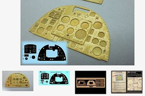 Airscale 1/24 Supermarine Spitfire Mk 1a Instrument Panel (Photo-Etch & Decal) for ARX