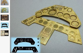 Airscale 1/24 Focke Wulf Fw190 Instrument Panel (Photo-Etch & Decal) for ARX