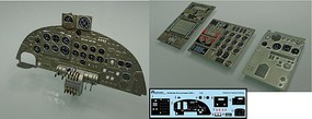 Airscale 1/32 Avro Lancaster B Mk I Instrument Panel Upgrade for HKM (Photo-Etch & Decal)