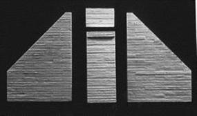AIM Bridge Abutment (Poured Concrete Board Formed, 2 Pack) HO Scale Model Railroad Scenery #124
