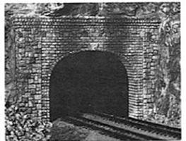 AIM Double-Track Tunnel Portal - Random Stone N Scale Model Railroad Scenery #213