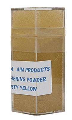 A I M Products Colored Weathering Powder Approx. 1oz - Dirty Yellow -- #3104