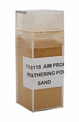 A I M Products Weathering Powder Approx. 1oz - Sand -- #3118