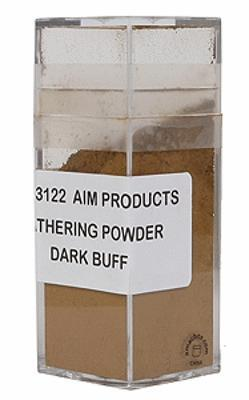 A I M Products Weathering Powder - Dark Buff 1oz -- #3122