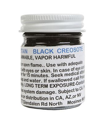 A I M Products Stain Blk Creosote    1oz