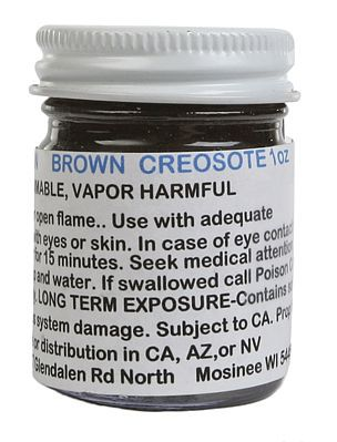 A I M Products Stain Brn Creosote    1oz