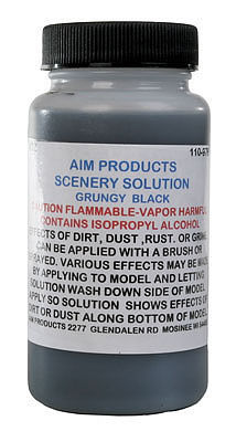 A I M Products Scn Sol Wsh Grngy Blk 4oz