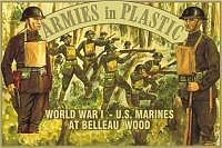 ArmiesInPlastic WWI US Marines at Belleau Wood (20) Plastic Model Military Figure 1/32 Scale #5405