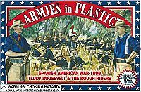 Armies In Plastic Spanish American War Rough Riders (20) -- Plastic Model Military Figure -- 1/32 Scale -- #5414