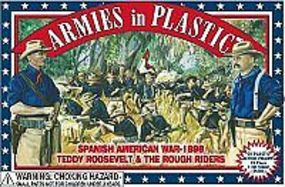 ArmiesInPlastic Spanish American War Rough Riders (20) Plastic Model Military Figure 1/32 Scale #5414