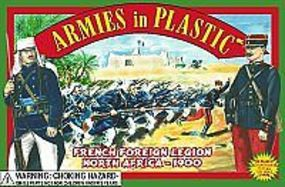 ArmiesInPlastic N. Africa 1900 French Foreign Legion Infantry (20) Plastic Model Military Figure 1/32 #5418