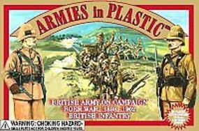 ArmiesInPlastic Boer War 1899-1902 British Army (20) Plastic Model Military Figure 1/32 Scale #5422