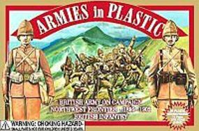 ArmiesInPlastic Northwest Frontier 1895-1902 British Army Plastic Model Military Figure 1/32 Scale #5423