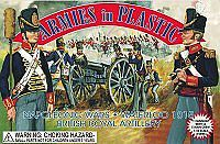 Armies In Plastic Waterloo 1815 British Royal Artillery -- Plastic Model Military Figure -- 1/32 Scale -- #5431