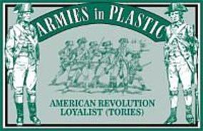 ArmiesInPlastic American Revolution Loyalist Infantry Plastic Model Military Figure 1/32 Scale #5467