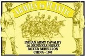 ArmiesInPlastic 1900 Indian Army Cavalry 1st Skinners Horse Plastic Model Military Figure 1/32 Scale #5473