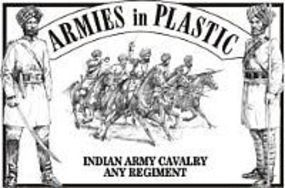 ArmiesInPlastic Indian Army Cavalry Any Regiment (5 Mtd) Plastic Model Military Figure 1/32 Scale #5477