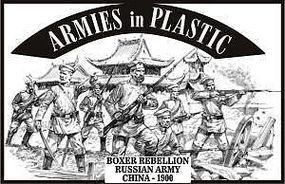 ArmiesInPlastic Boxer Rebellion China 1900 Russian Army (20) Plastic Model Military Figure 1/32 #5486