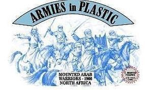 ArmiesInPlastic N. Africa 1900 Arab Warriors (5 Mtd) Plastic Model Military Figure 1/32 Scale #5487