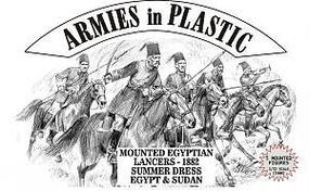 ArmiesInPlastic Egypt & Sudan 1882 Lancers Summer Dress Plastic Model Military Figure 1/32 Scale #5488