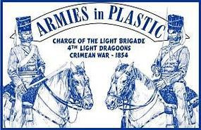 ArmiesInPlastic 4th Light Dragoons Charge of the Light Brigade Plastic Model Military Figure 1/32 #5515