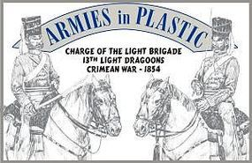 ArmiesInPlastic 13th Light Dragoons Charge of the Light Brigade Plastic Model Military Figure 1/32 #5516