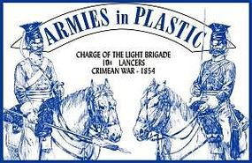 ArmiesInPlastic 1854 17th Lancers Charge of the Light Brigade Plastic Model Military Figure 1/32 #5519